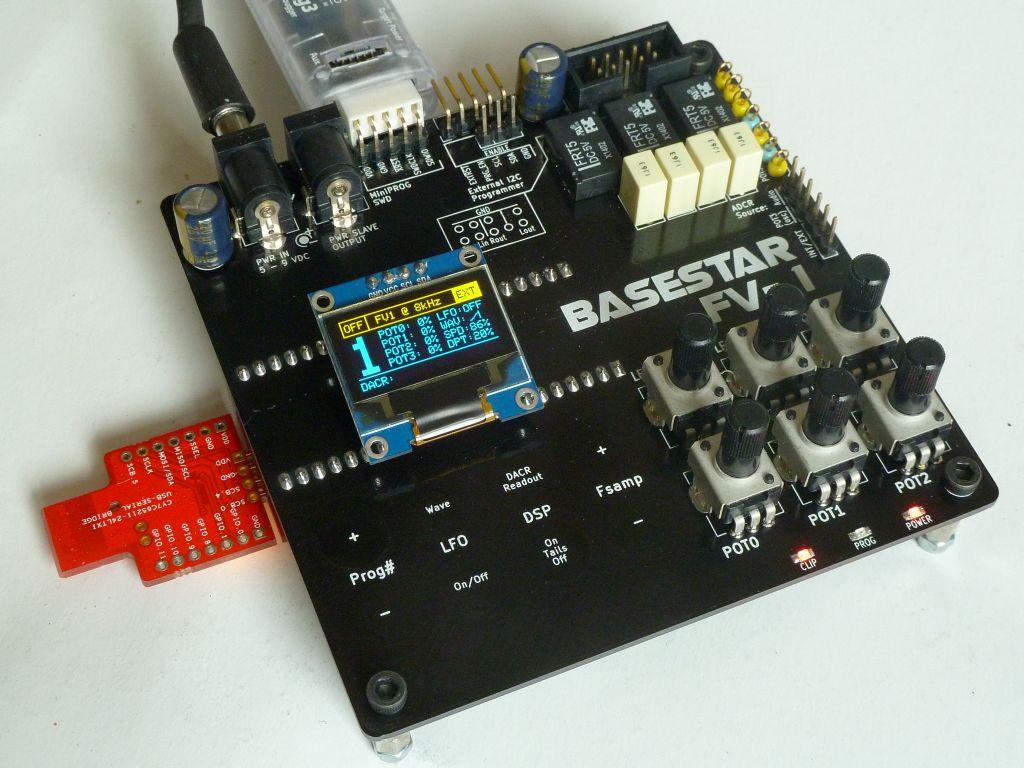HEXE GE - Basestar FV-1