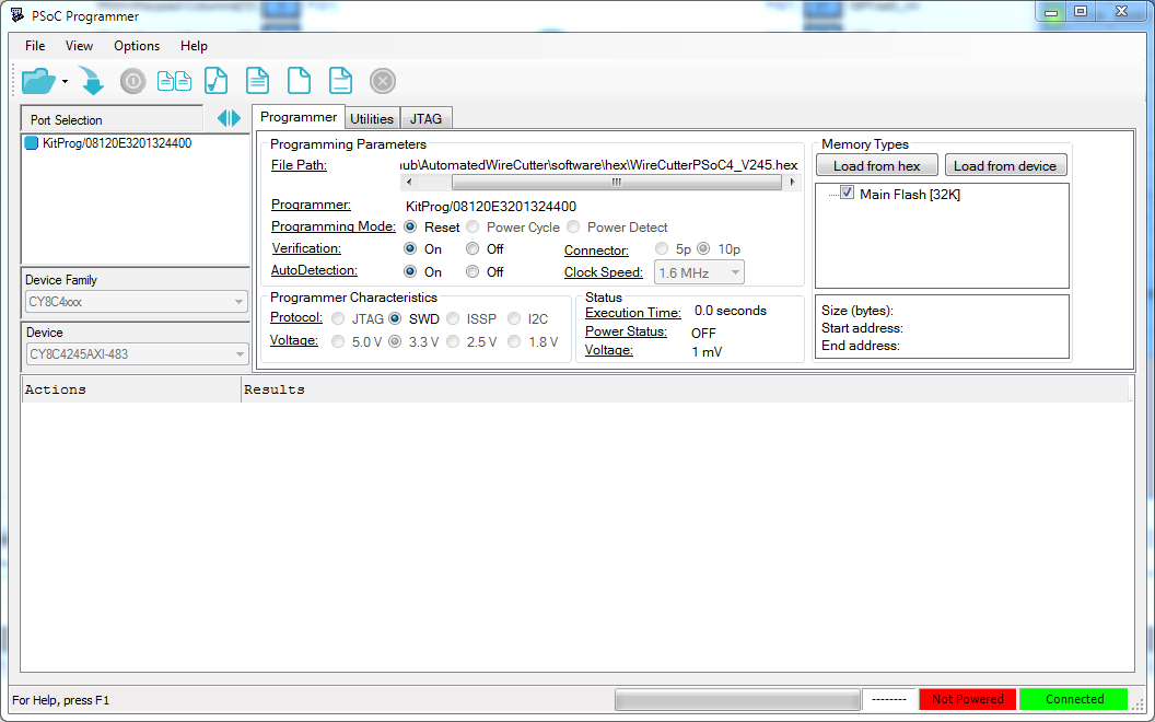 HEXE GE - Wire Cutter Software