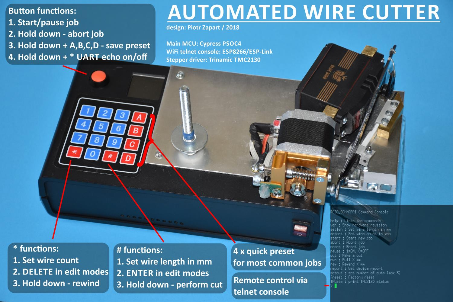 HEXE GE - Automated Wire Cutter