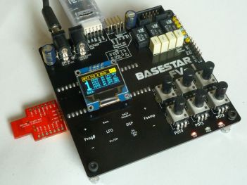 Basestar FV-1 developmnent board