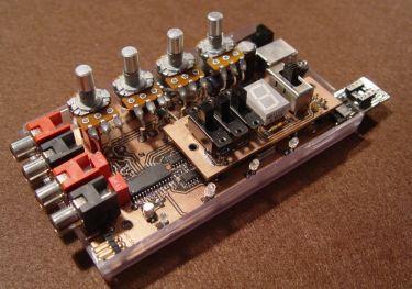 My 1st designed FV-1 dev board