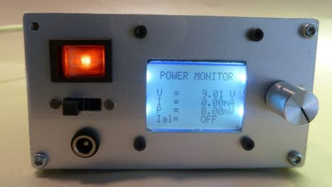 Power Monitor built into a PSU