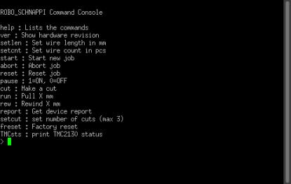 Wire Cutter command console
