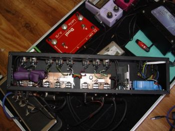 Pedalboard assembly