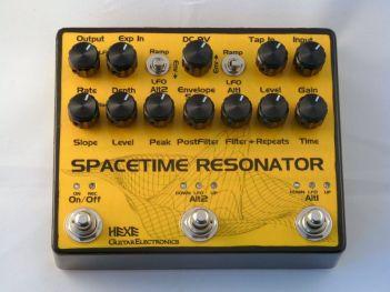 HEXE Spacetime Resonator delay