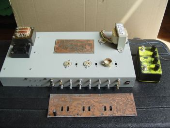 HEXE Tube Amp - building process