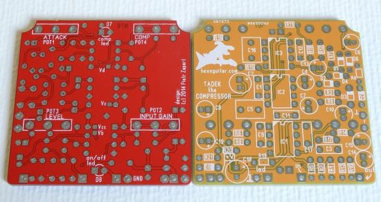 Tadek Compressor PCBs
