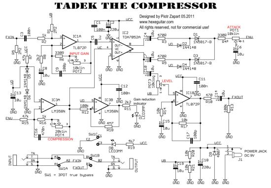 Tadek Compressor schematic