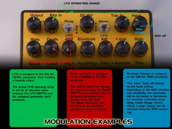 HEXE Spacetime Resonator controls