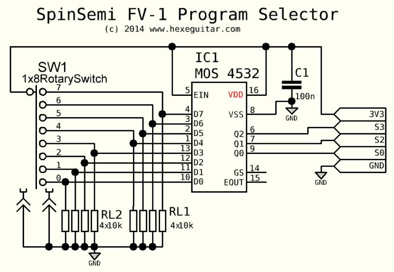 schematic symbol for encoder flood light cad symbol